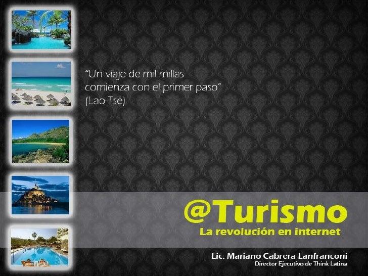 @Turismo, turismo y social media