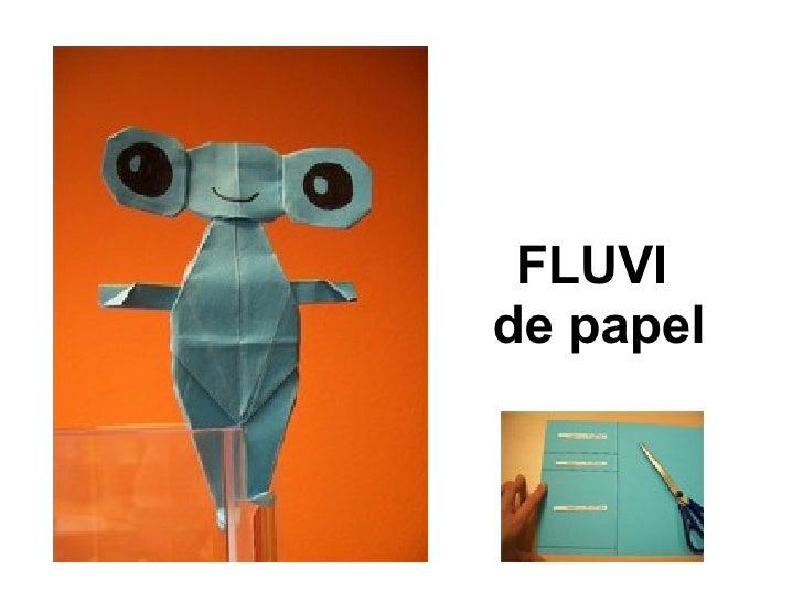 FLUVI  de papel