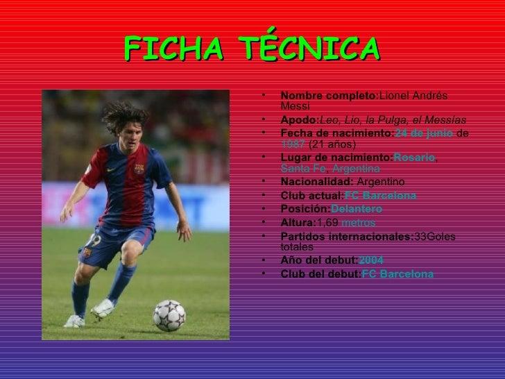 Biografia Lionel Messi Biografia Completa Del Futbolista  : presentacin lionel messi 3 728 from www.newhairstylesformen2014.com size 728 x 546 jpeg 116kB