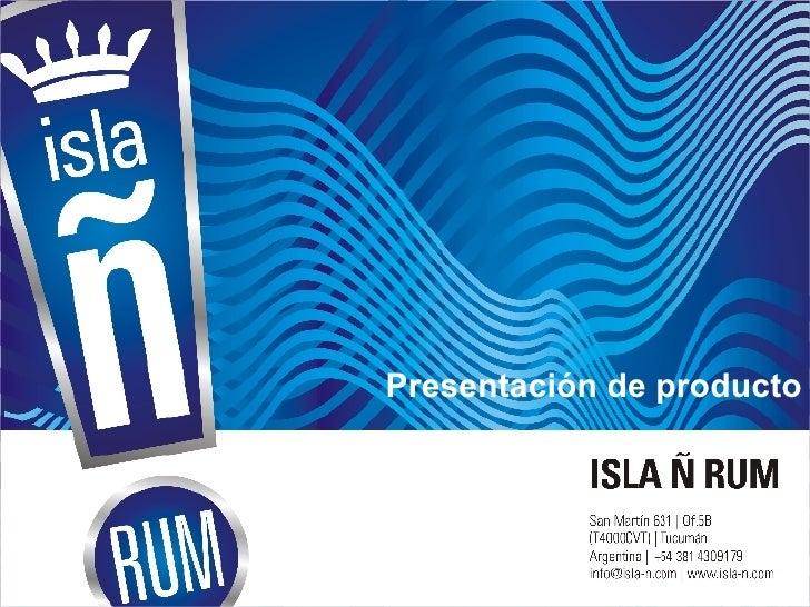 PresentacióN Ron Isla ñ V.2