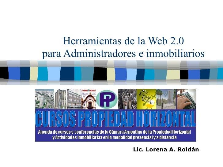 Presentación Web 2 0