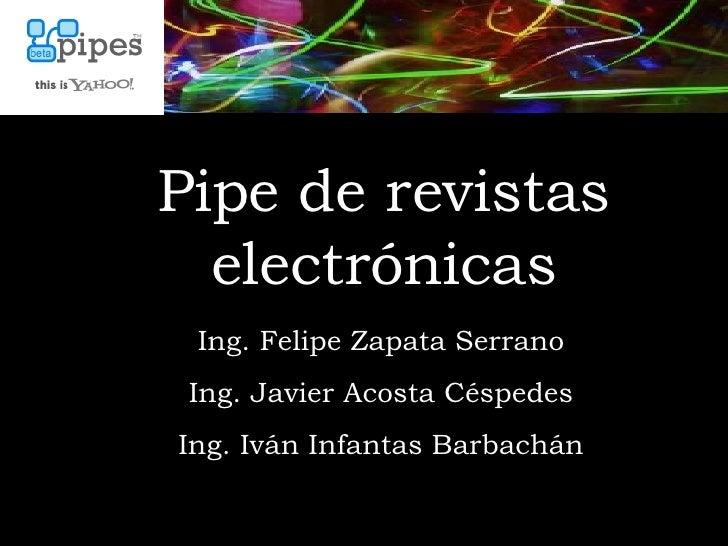 Presentación Yahoopipes