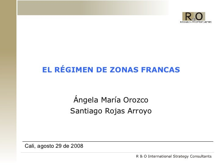 Zonas Francas 2008