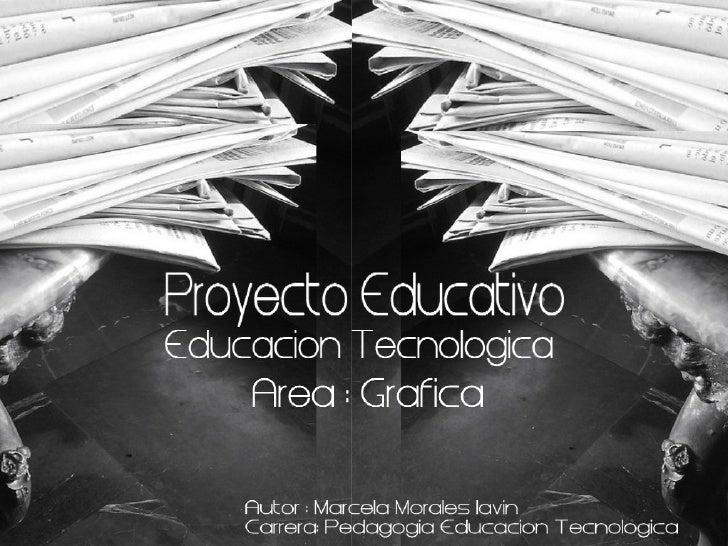Presentacion- proyecto tecnologico