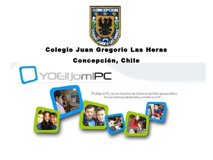 Colegio Juan Gregorio Las Heras Concepción, Chile