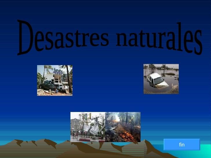 Desastres naturales - Ambientadores naturales para la casa ...