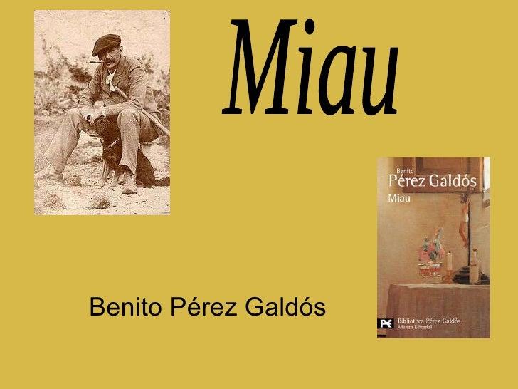 Benito Pérez Galdós Miau