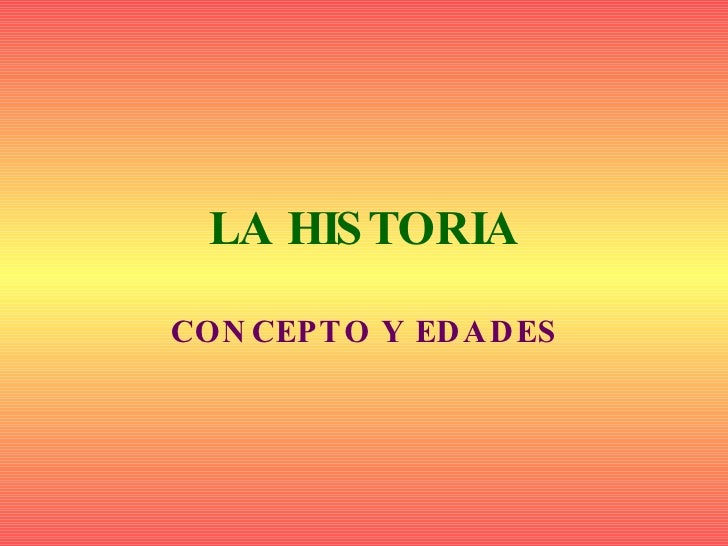 Presentaciónhistoria