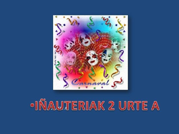 <ul><li>IÑAUTERIAK 2 URTE A</li></ul>2 URTE A<br />