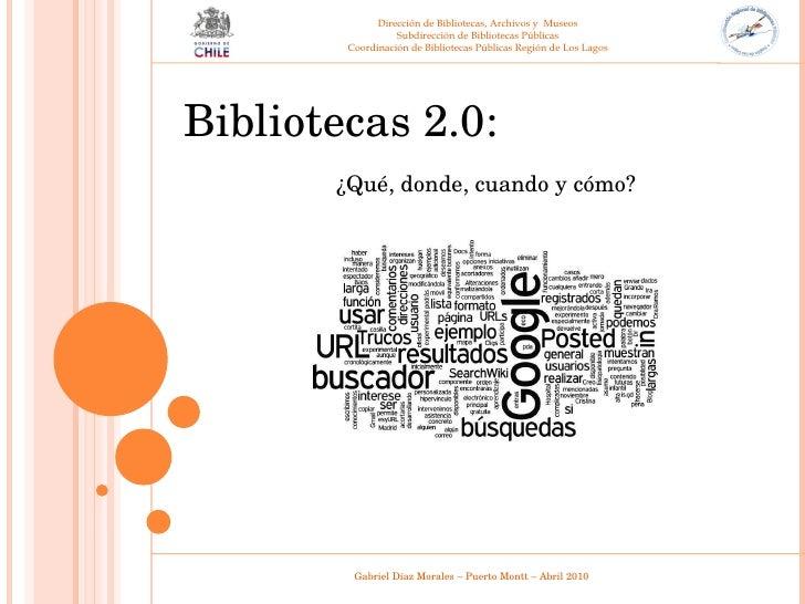 Dirección de Bibliotecas, Archivos y  Museos Subdirección de Bibliotecas Públicas Coordinación de Bibliotecas Públicas Reg...