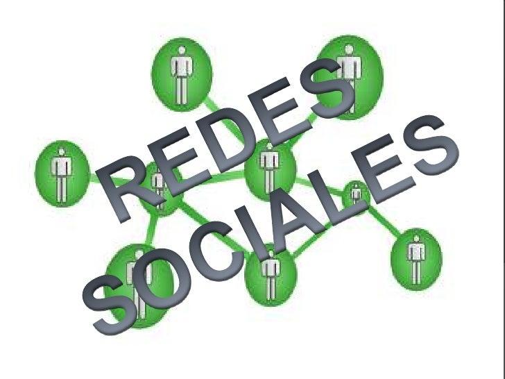 REDES SOCIALES<br />