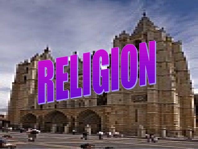 QUE SIGNIFICA LA PALABRA RELIGION: • a veces usada como sinónimo de fe o sistema de creencias, se define comúnmente como c...