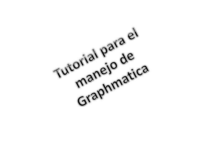 como usar graphmatica