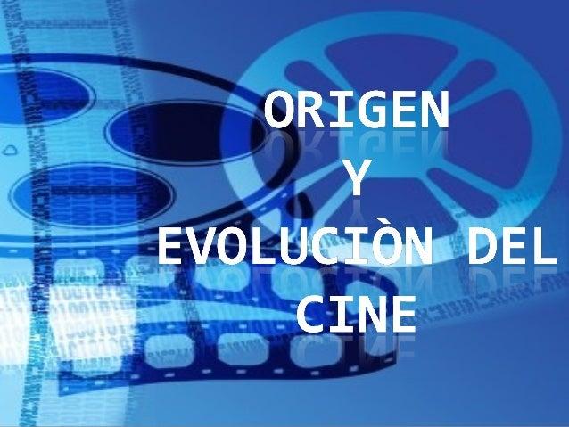 ¿Qué es el cine?  Técnicamente el cine es una proyección sucesiva de fotografías impresas sobre una cinta, ¿entonces por ...