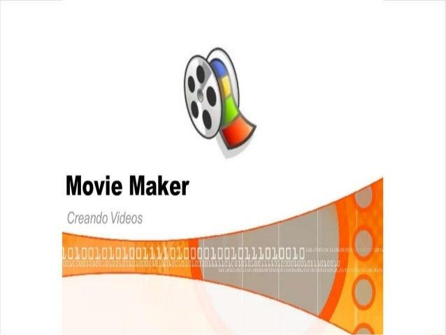 """Movie Maker  Creando Videos            -L{. l."""". ..'. .!LLH . .:. ~,1 _ mum mm.  mm-  ' ULILLLDLEUI LDLUULLLLJ UJUDIUDLUII..."""