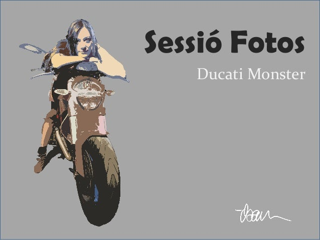 Sessió Fotos Ducati Monster