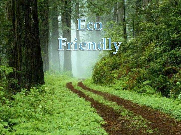 Eco Friendly<br />