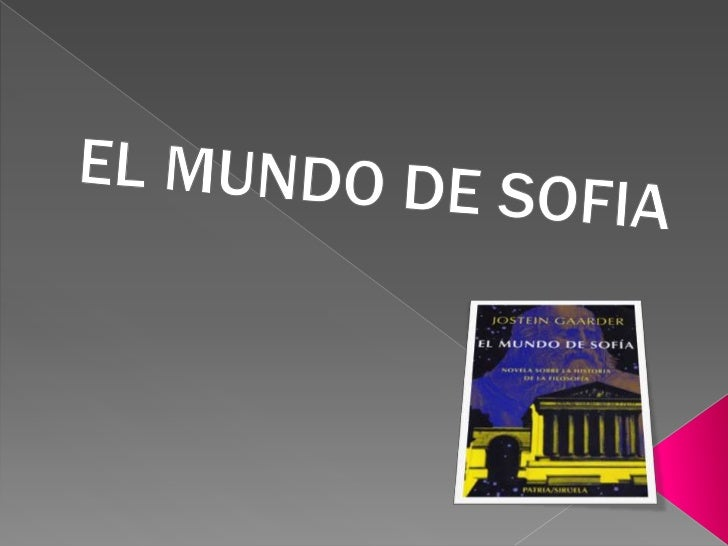 EL MUNDO DE SOFIA <br />