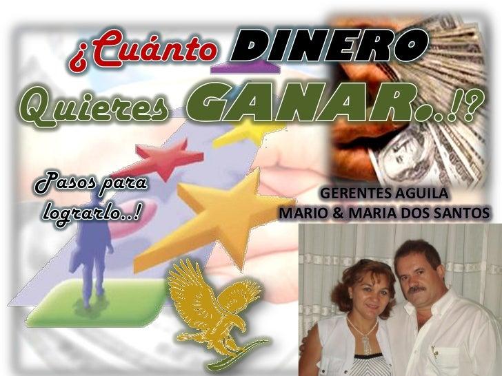 GERENTES AGUILAMARIO & MARIA DOS SANTOS