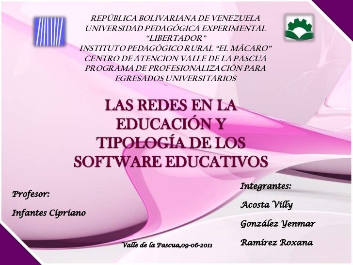 "REPÚBLICA BOLIVARIANA DE VENEZUELA<br />UNIVERSIDAD PEDAGÓGICA EXPERIMENTAL <br />""LIBERTADOR""<br />INSTITUTO PEDAGÓGICO R..."