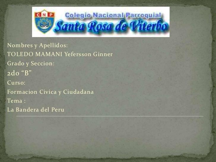 La Bandera del Peru