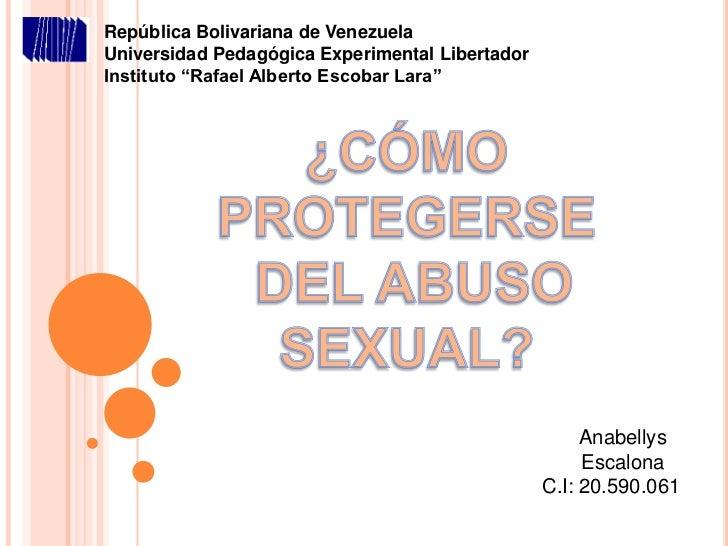 "República Bolivariana de VenezuelaUniversidad Pedagógica Experimental LibertadorInstituto ""Rafael Alberto Escobar Lara""   ..."