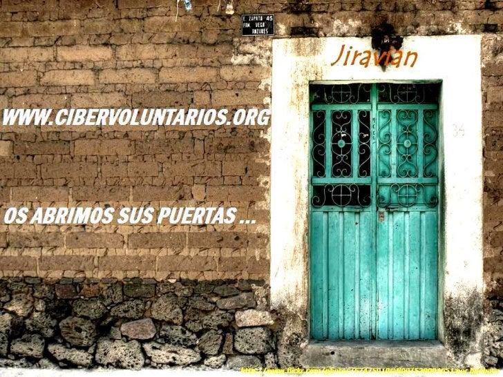 Cibervoluntarios por Jiravian. PECHAKUCHA
