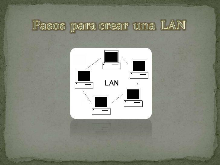 Si posee varios equipos, puede ser muy útil conectarlos entre sí para crear unared de área local (LAN).Configurar una red ...