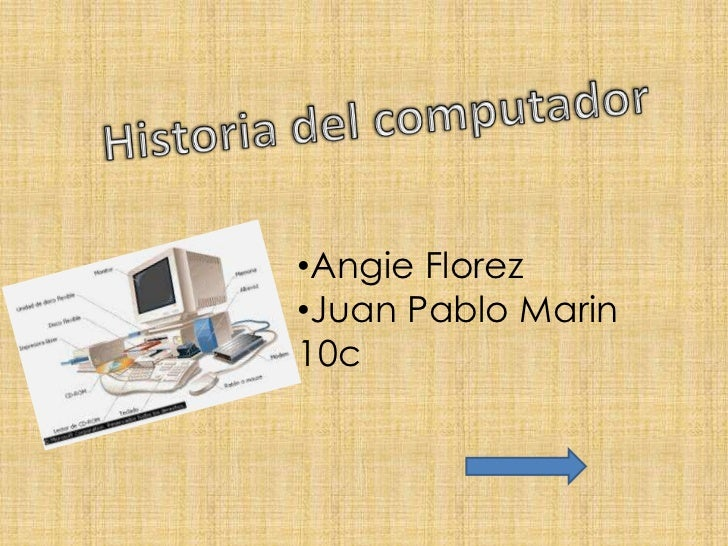 Linea del tiempo del computador