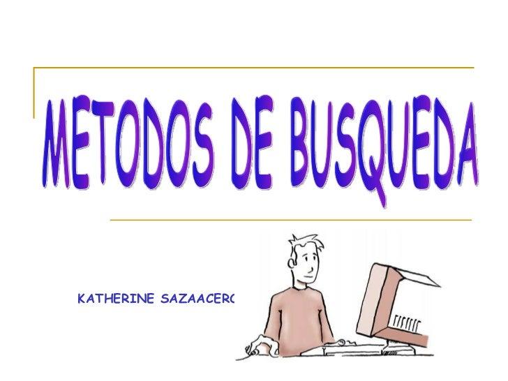 KATHERINE SAZAACERO