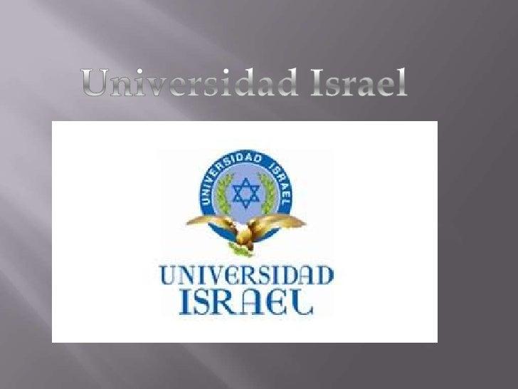 Universidad Israel