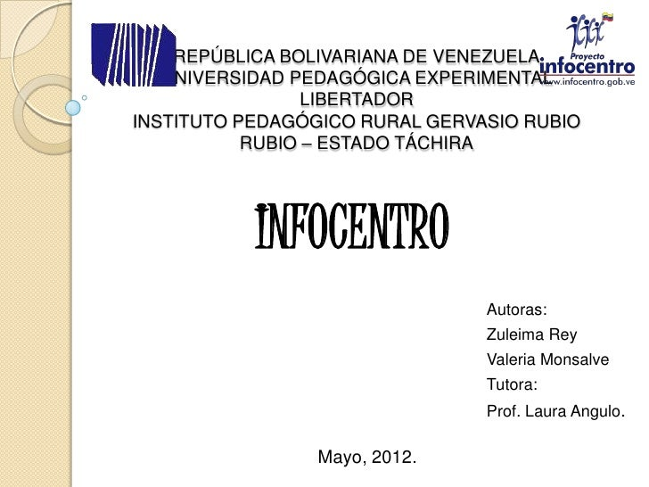 Infocentro.