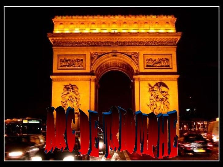 LArc du Triomphe est situé à Paris dans le 8  arrondissement, sur la place de l'Étoile, à  l'extrémité ouest de l'avenue d...