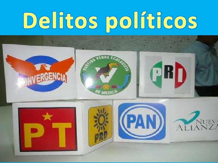 DELITOS POLÍTICOS.