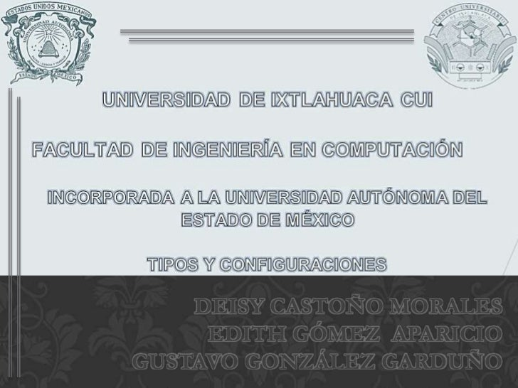 DEISY CASTOÑO MORALES     EDITH GÓMEZ APARICIOGUSTAVO GONZÁLEZ GARDUÑO