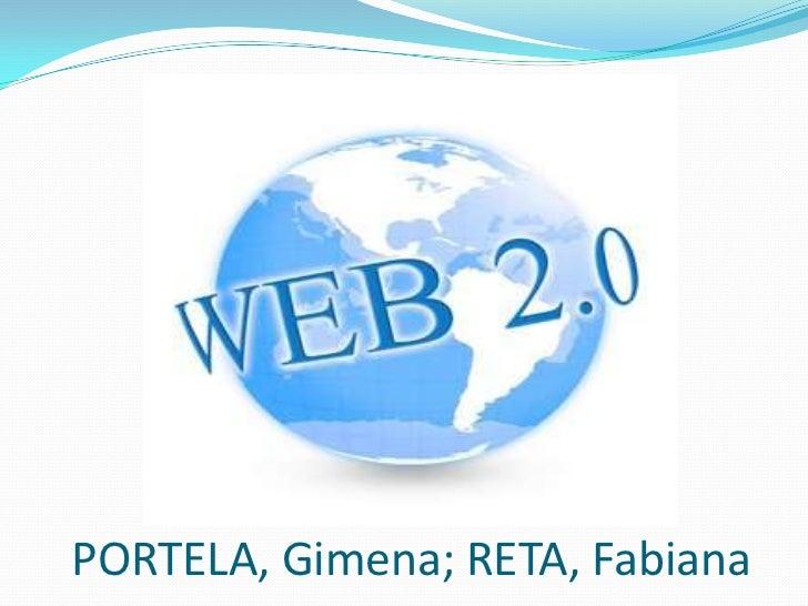 PORTELA, Gimena; RETA, Fabiana