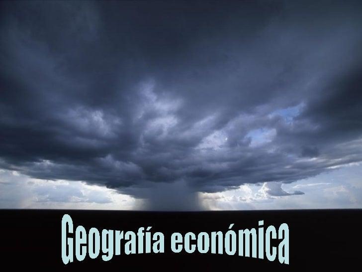 Geografia económica (Maria G)