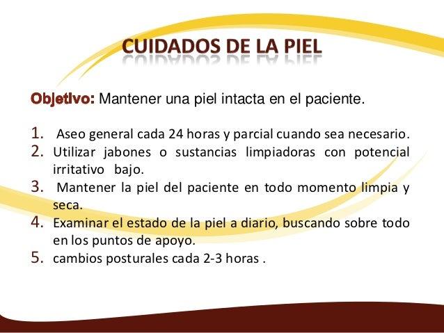 Baño General Del Paciente Encamado:CUIDADO DE LA PIEL DE PACIENTES ENCAMADOS