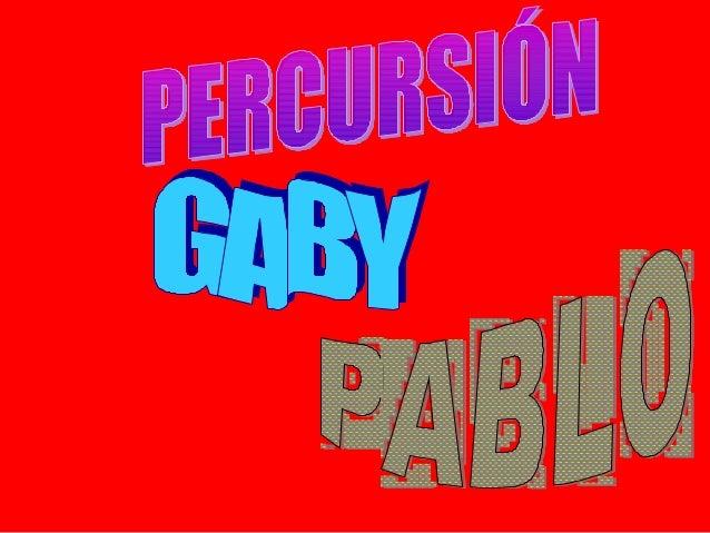 Un instrumento de percusión es un tipo de instrumento musical             cuyo sonido se origina al ser golpeado o agitado...