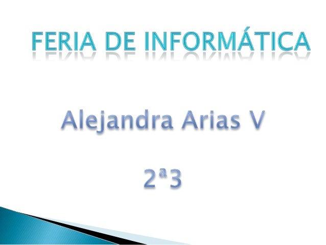 Fotos Feria de Informatica
