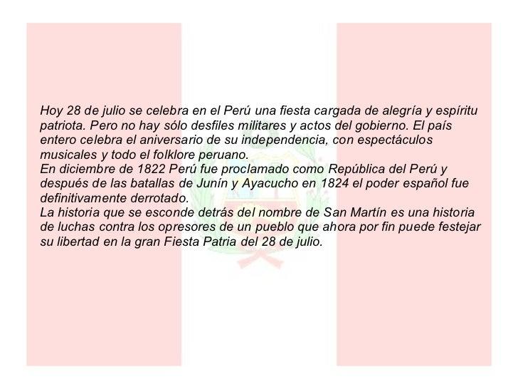 Día del Perú
