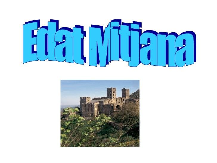 Edat Mitjana