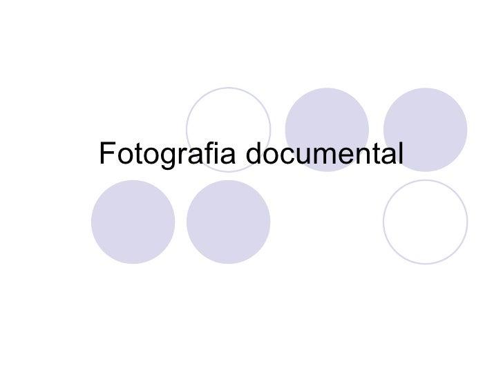 Fotografia documental