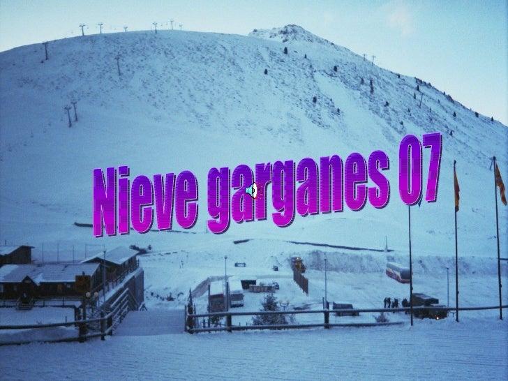 Nieve garganes 07