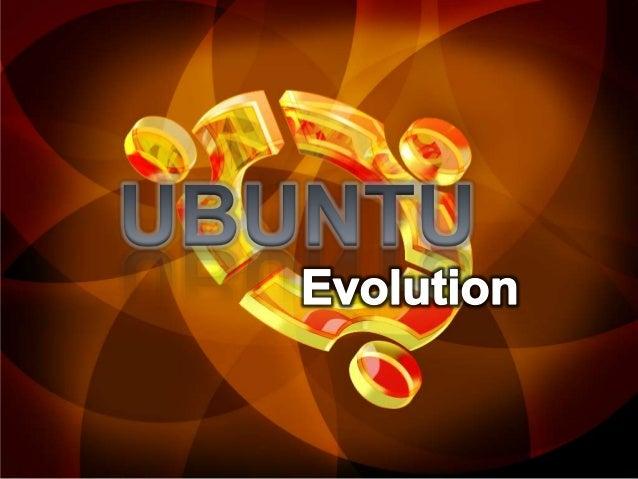 Evolucion Ubuntu