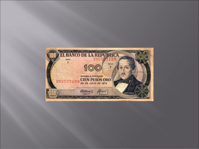 Billetes Colombia