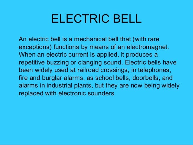 How Does The Bell Work