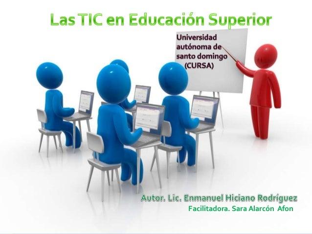 las TIC en educación superior