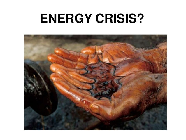 ENERGY CRISIS?