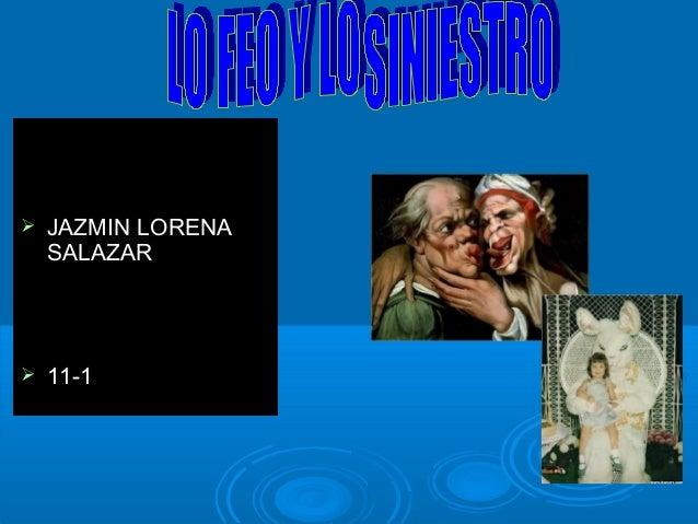  JAZMIN LORENAJAZMIN LORENA SALAZARSALAZAR  11-111-1
